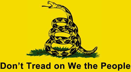 Don't Tread on We the People